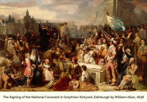 Allan, William; The Signing of the National Covenant in Greyfriars Kirkyard, Edinburgh